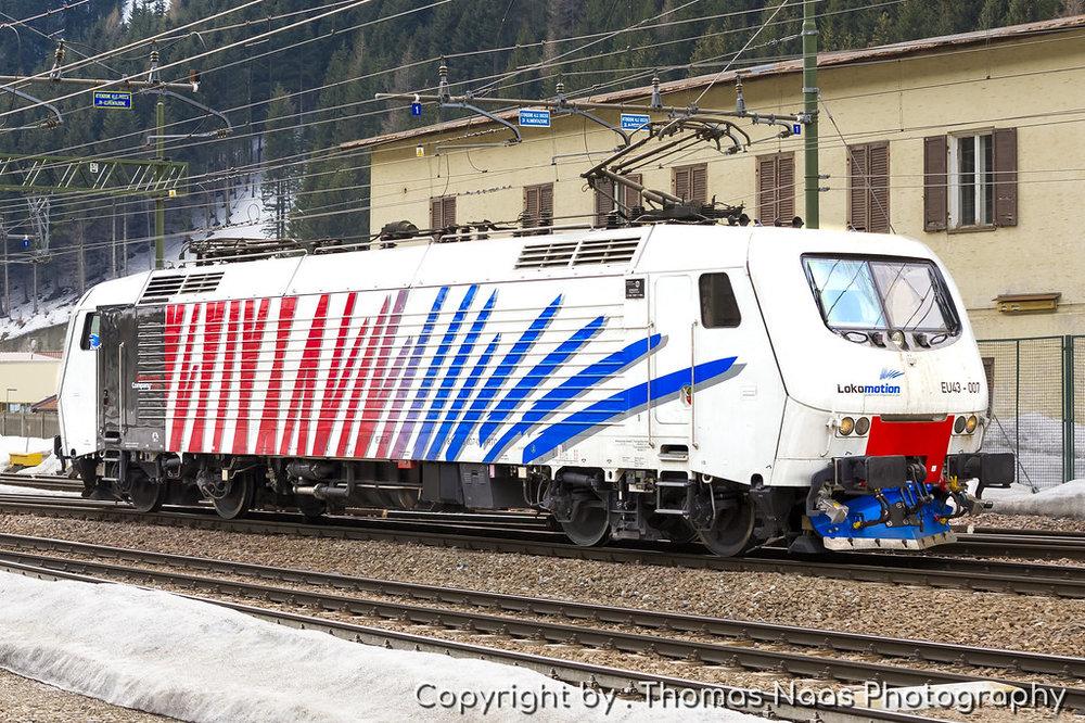 Lokomotion (RTC), EU43 007-0