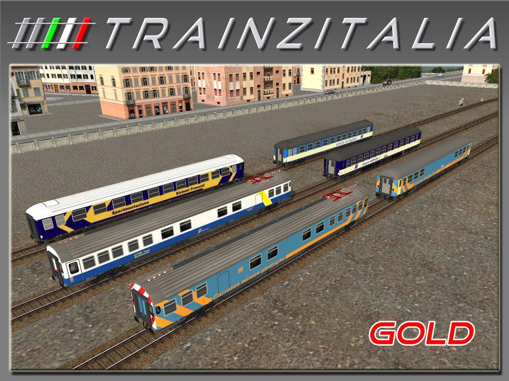 Pack FS carrozze diagnostiche Gold TB3-3