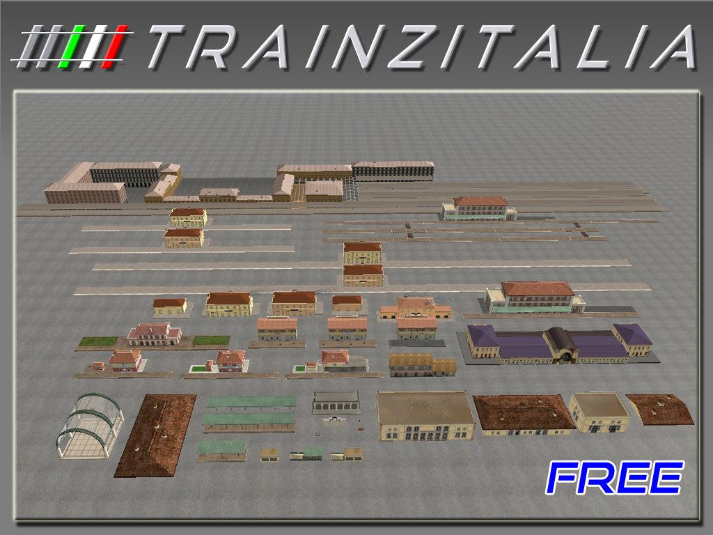 Pack Stazioni-1 Free TB3-3