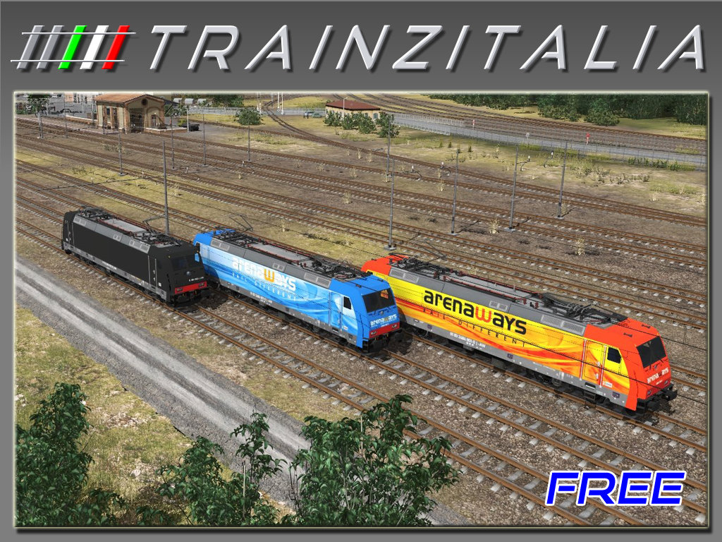 Pack ArenaWays E484 Free TB3-7