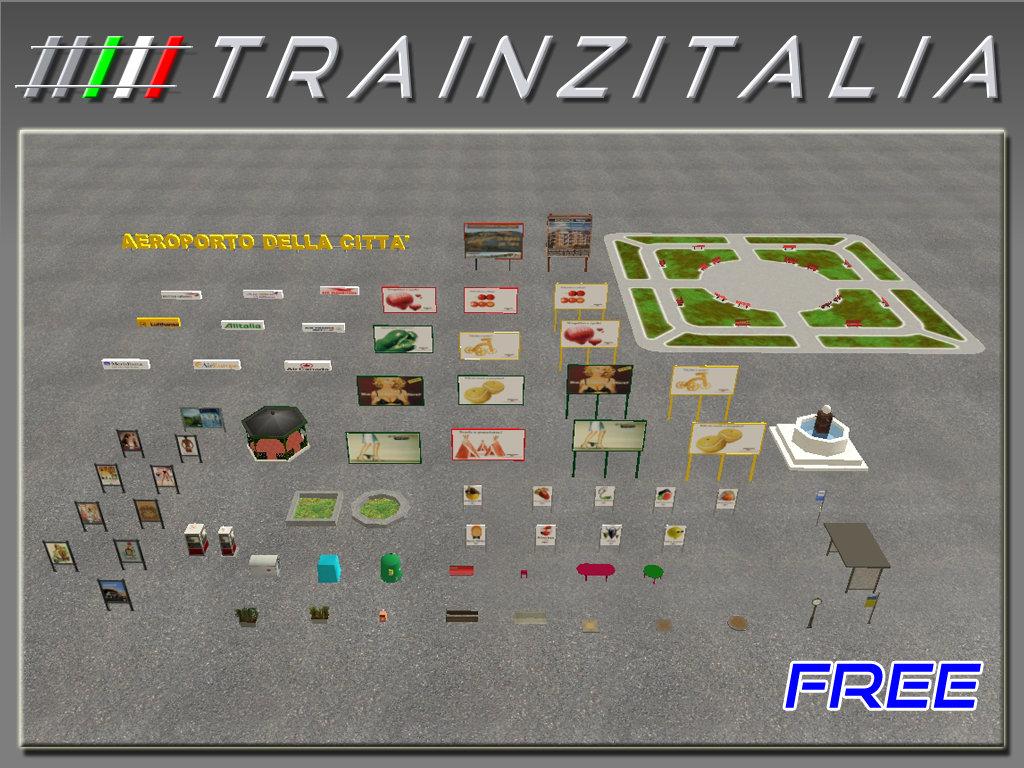 Pack Arredo Urbano Free TB3-7