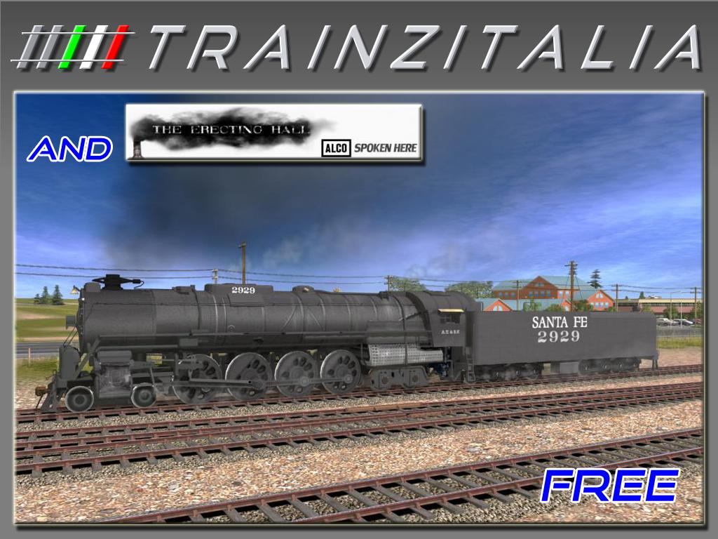 ATSF 2929 4-8-4 Free TB2-9