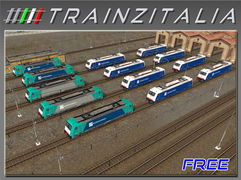 Pack NordCargo E483 Free TB3-7